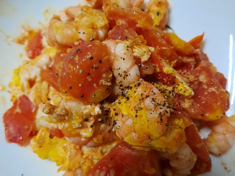 蝦仁番茄炒蛋