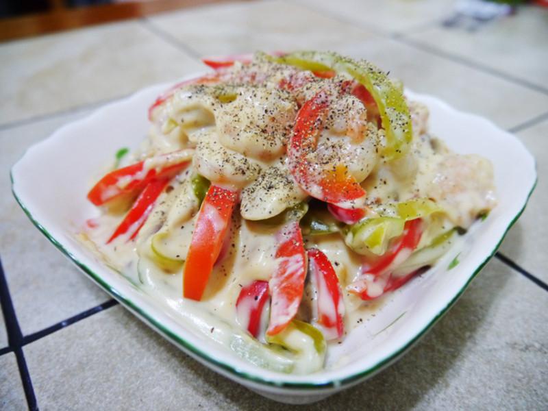 【Classico義遊味境】義式白醬彩椒燴鮮蝦