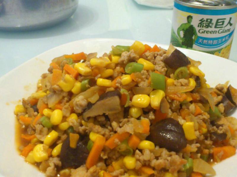 玉米繽紛五行肉醬<綠巨人黃金玉米鑽石規格>