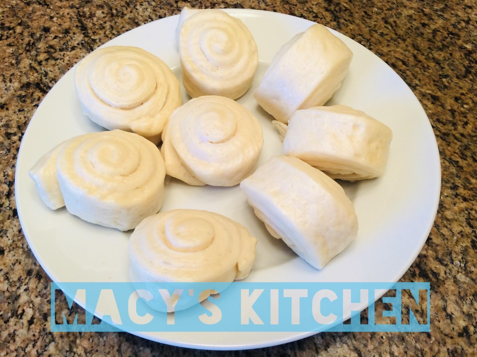 梅西的廚房🇺🇸白白嫩嫩手工白鮮奶饅頭
