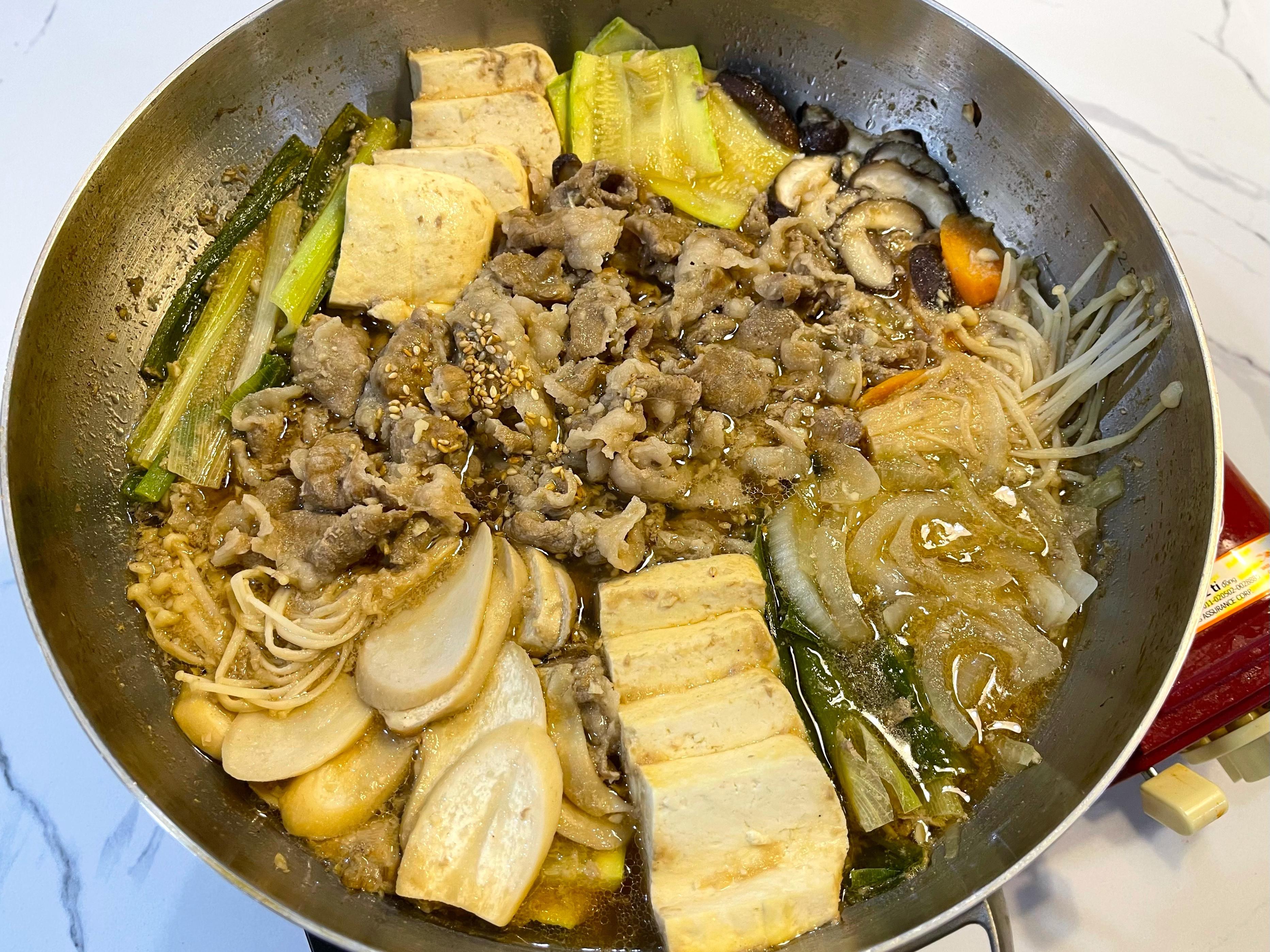 韓式銅盤烤肉鍋 불고기전골