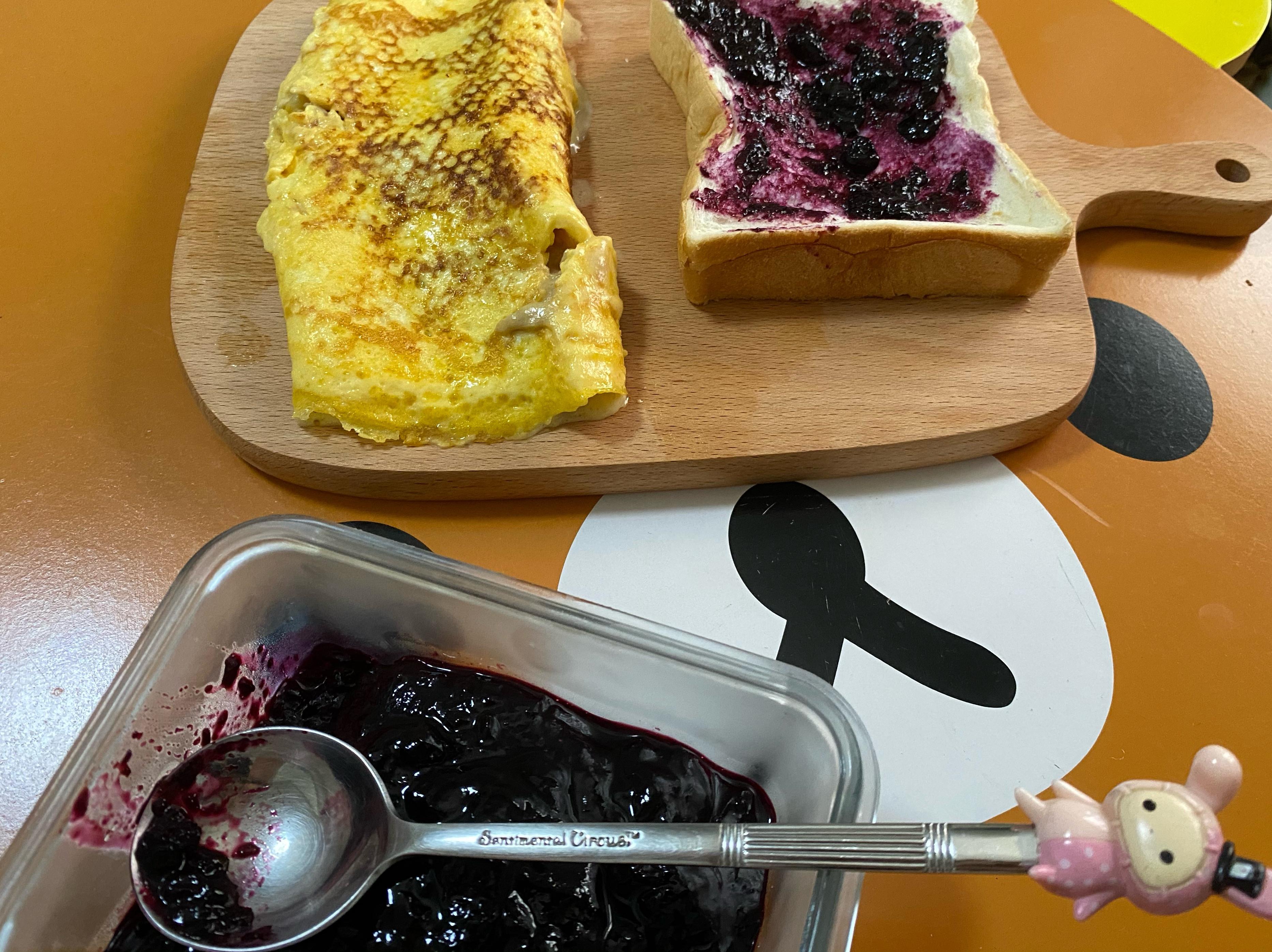 藍莓果醬 減糖版 超簡易😋