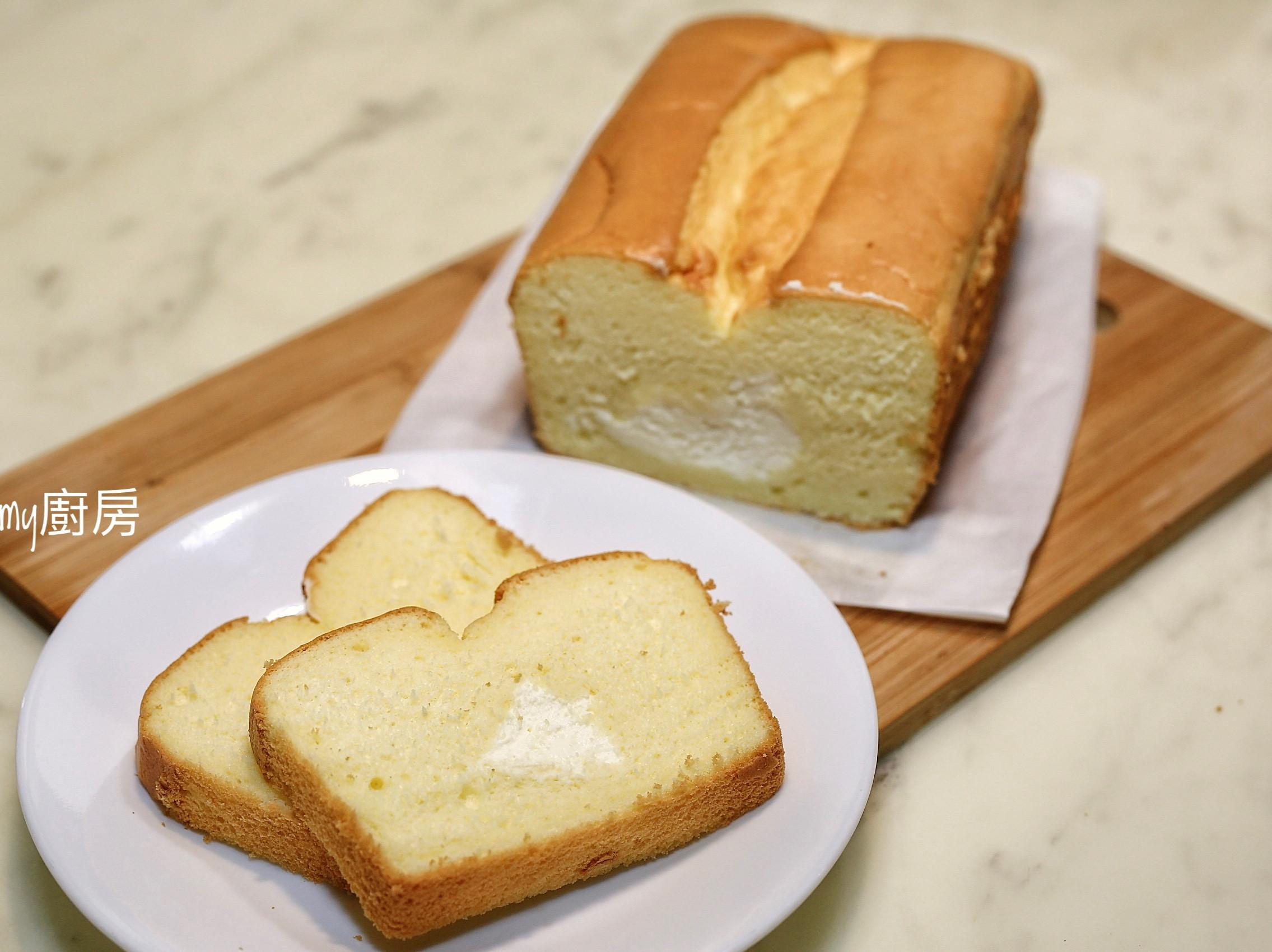 藏雪戚風蛋糕(減糖配方)