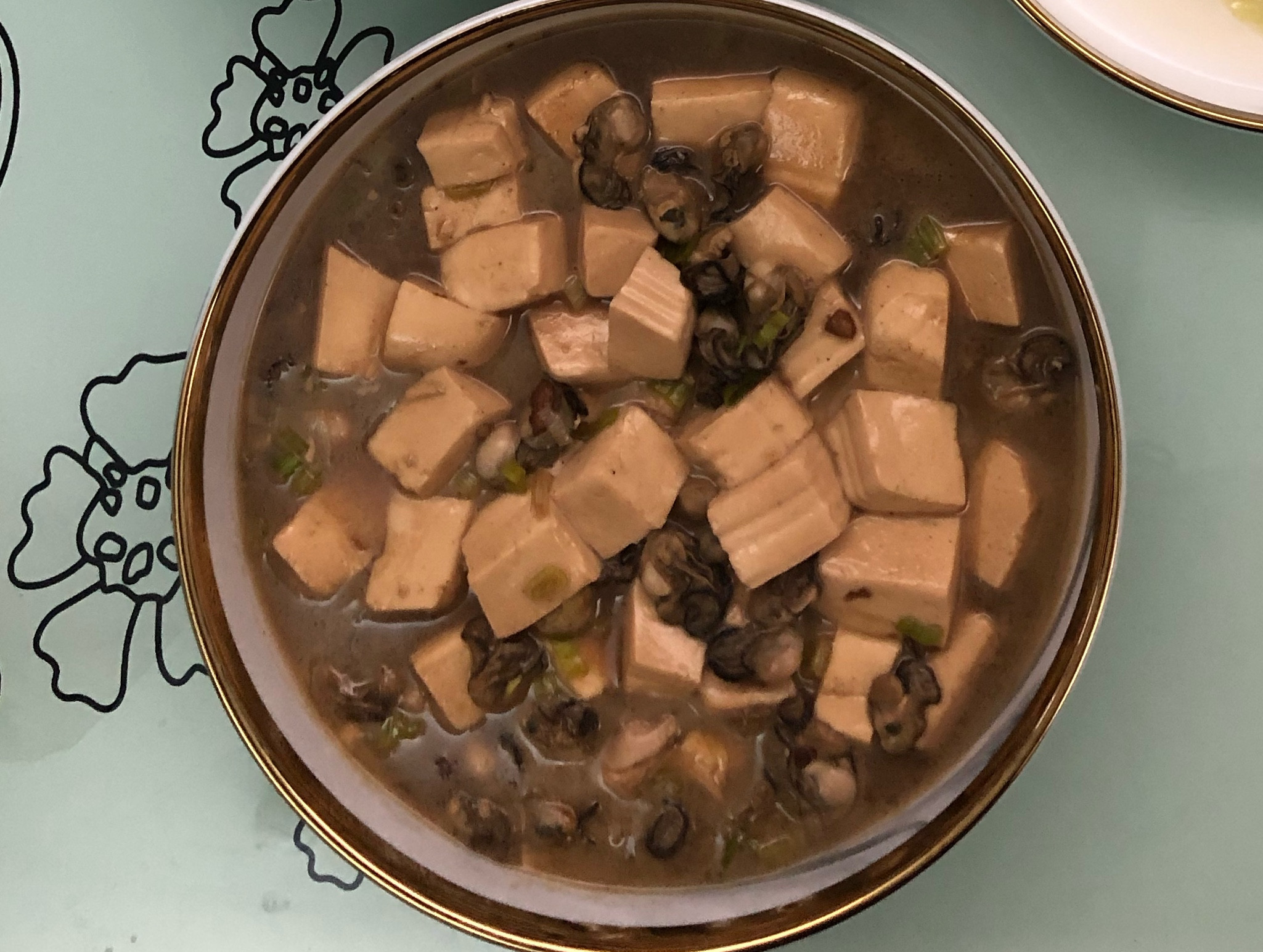 嫩豆腐煲鮮蚵