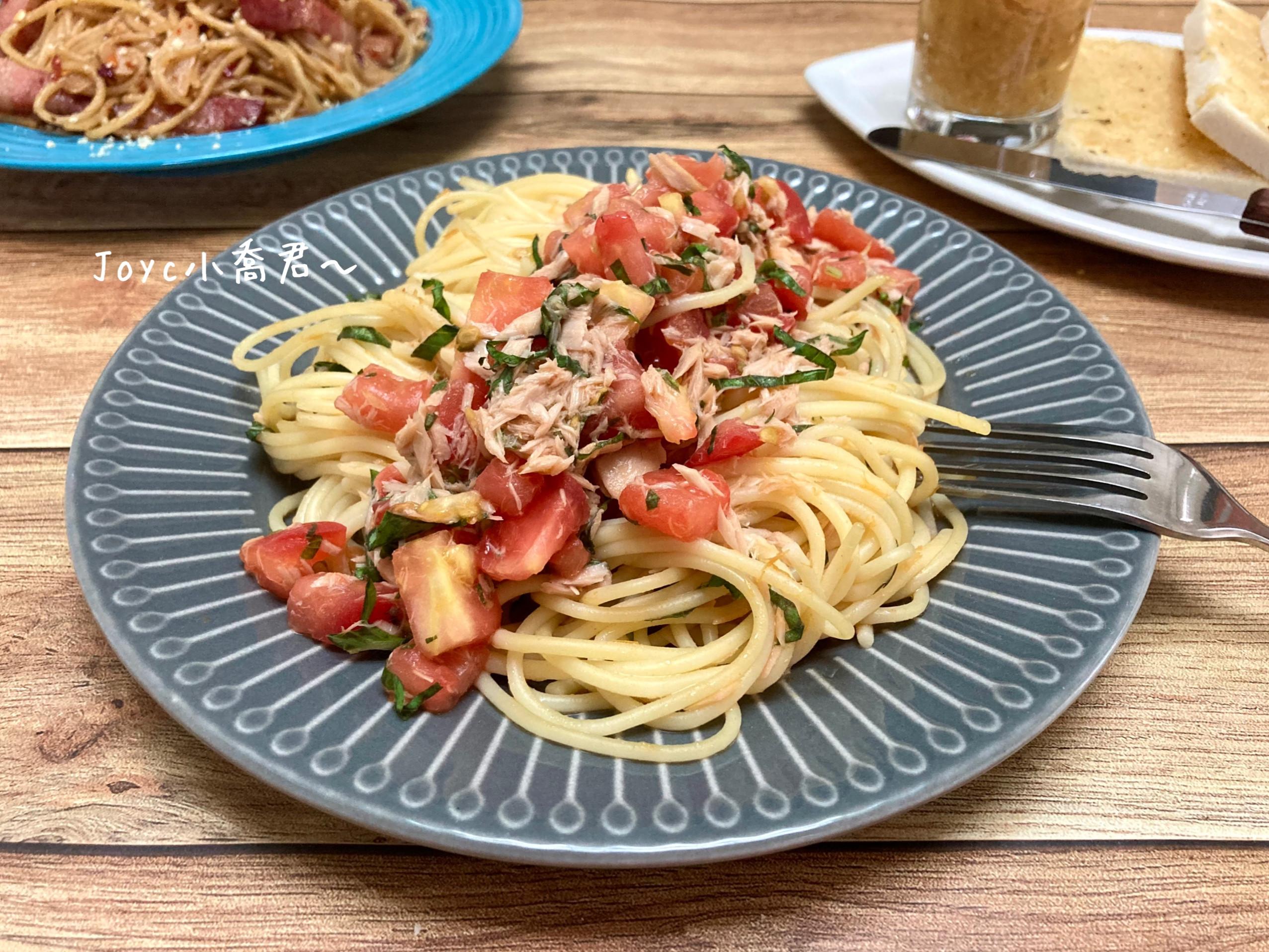 番茄鮪魚義大利冷麵