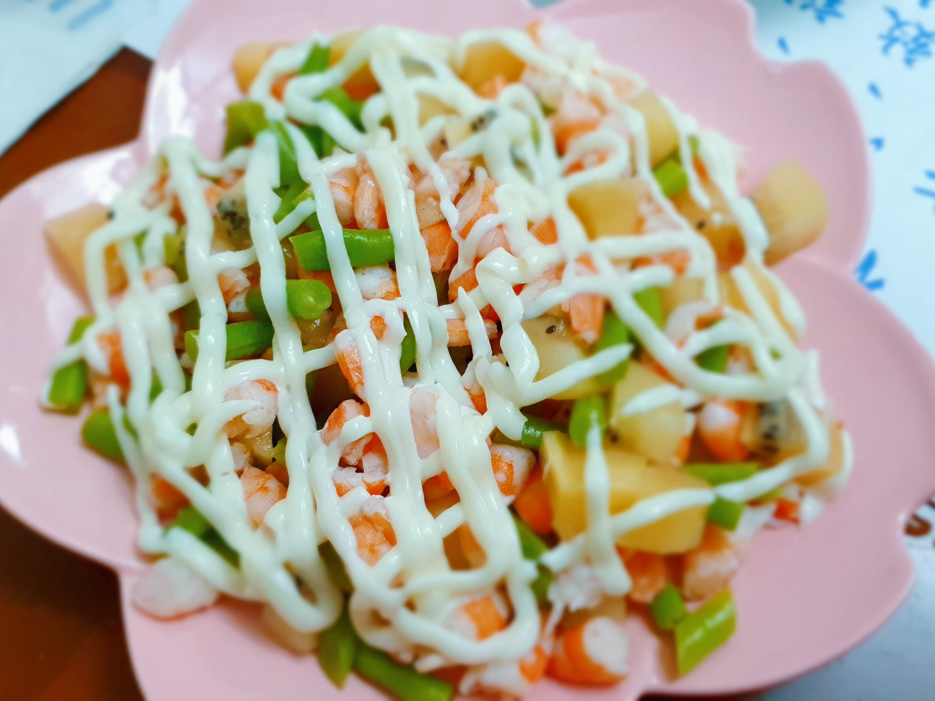 鮮蝦沙拉🥗