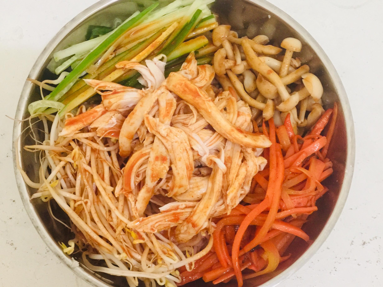 韓式雞絲米線