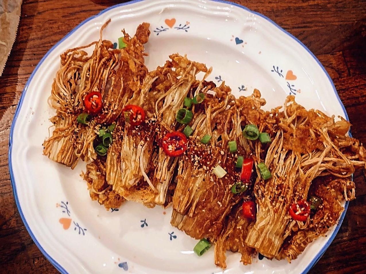 酥炸金針菇 (太簡單😌)