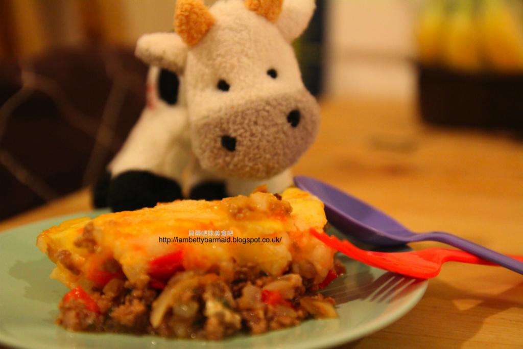 小人兒副食品【9-12個月】--迷你英國鄉村派mini cottage pie
