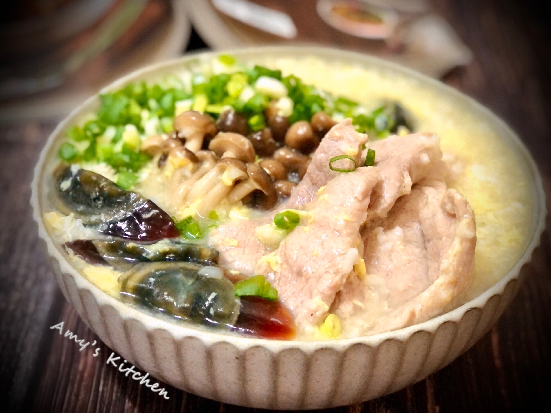 皮蛋瘦肉粥-零廚藝簡單煮