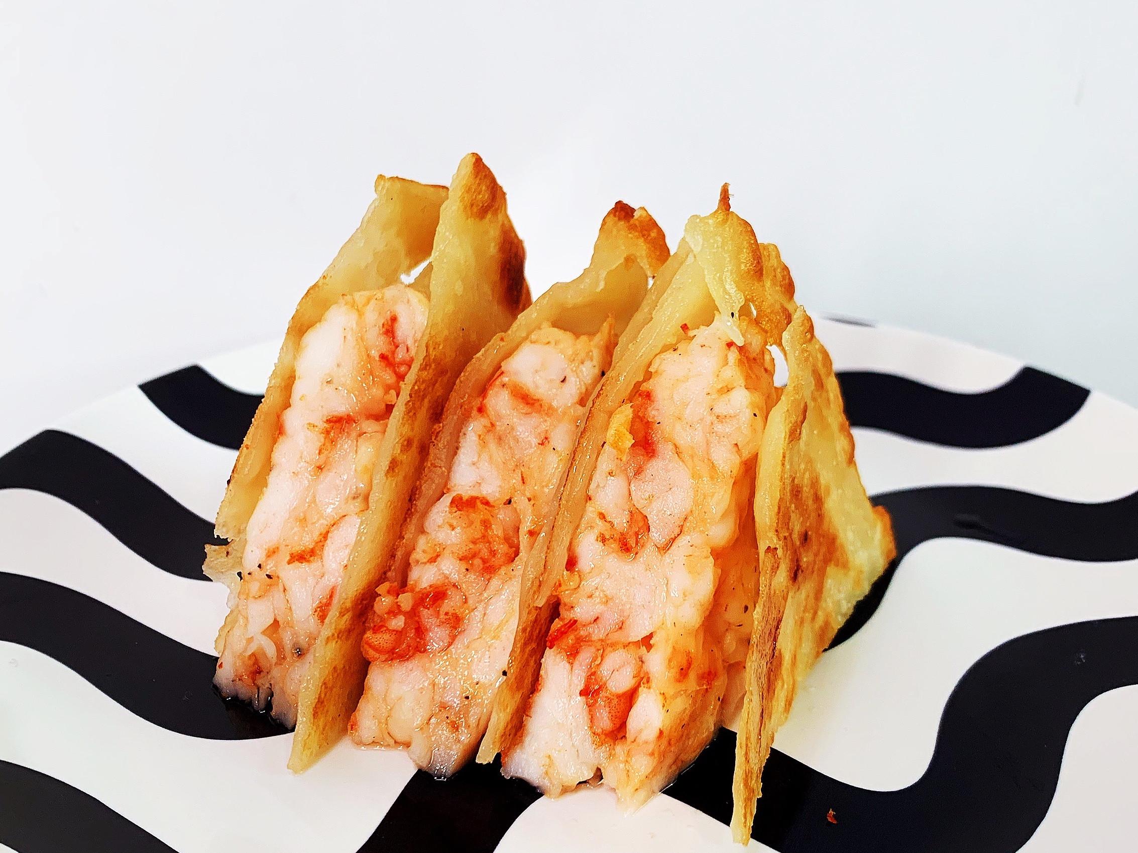 🦐月亮蝦餅🦐 自製餅皮&厚厚蝦肉