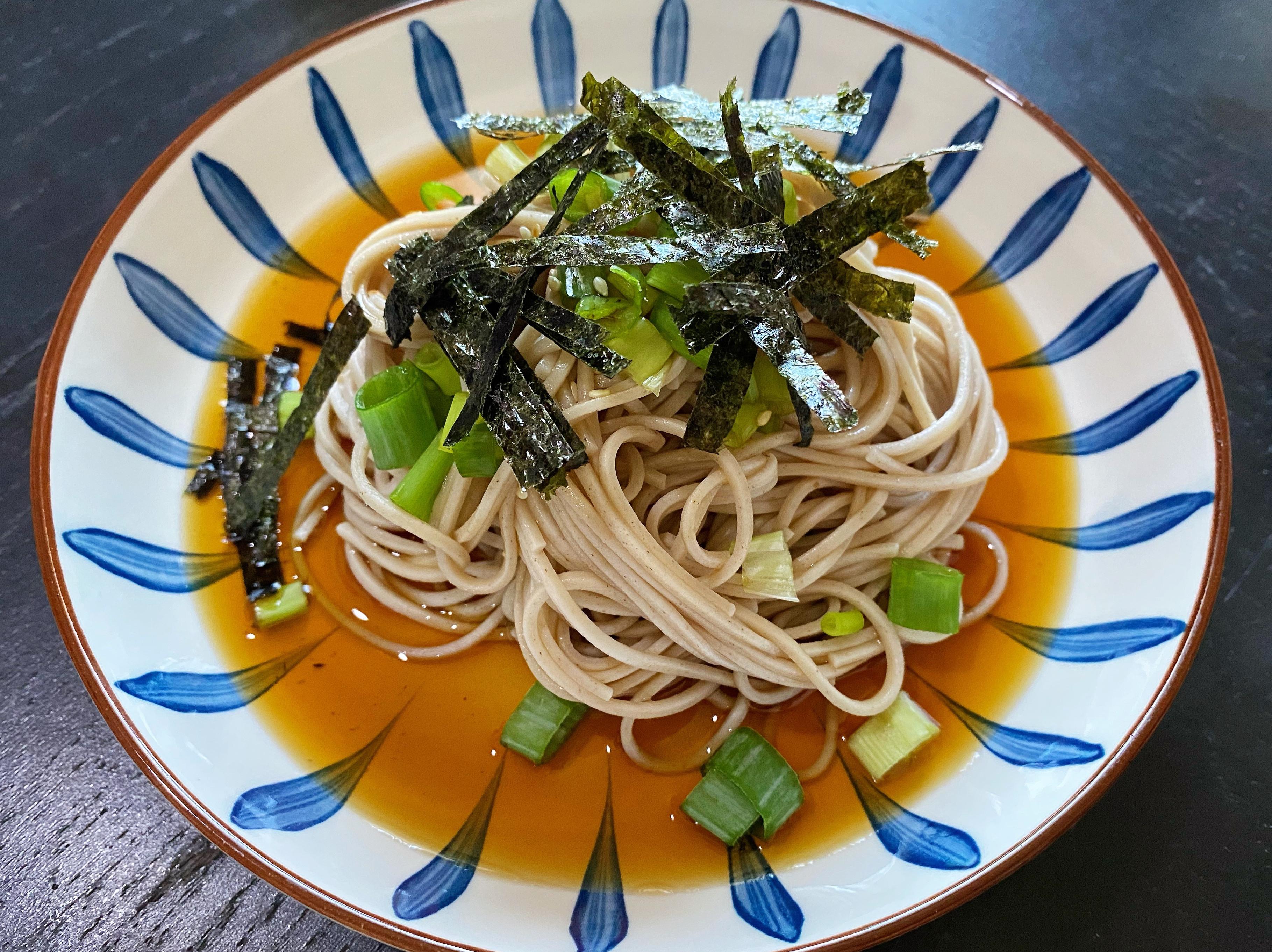低GI日式蕎麥冷麵
