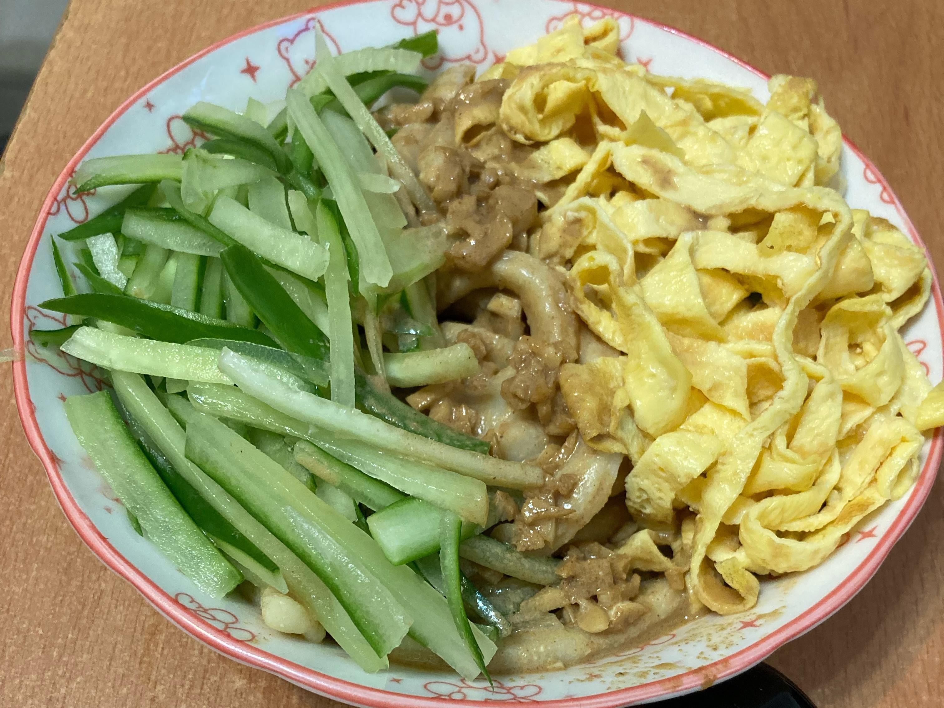 豆腐麵條-減糖 沾麵