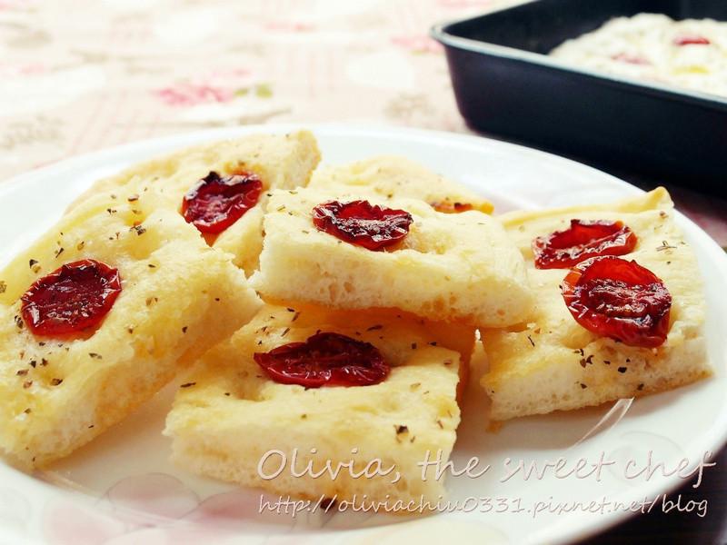 Olivia♥佛卡夏麵包Focaccia