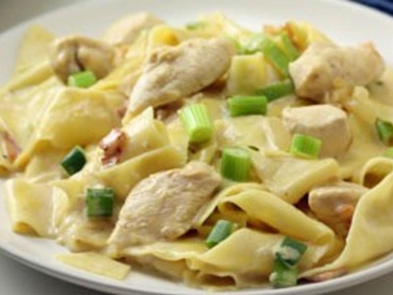 減重食譜1-奶油雞丁通心粉