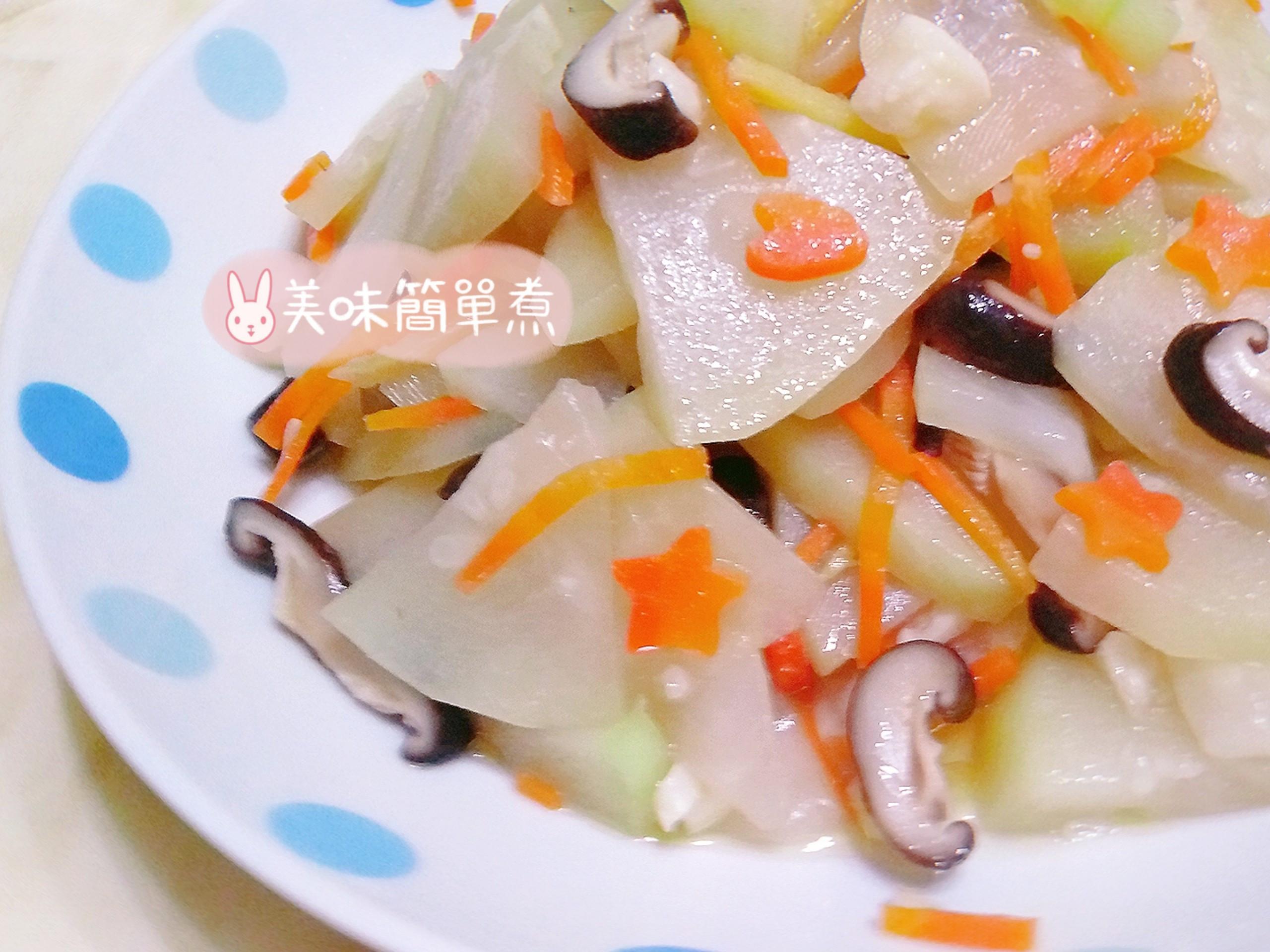 瓠瓜炒香菇