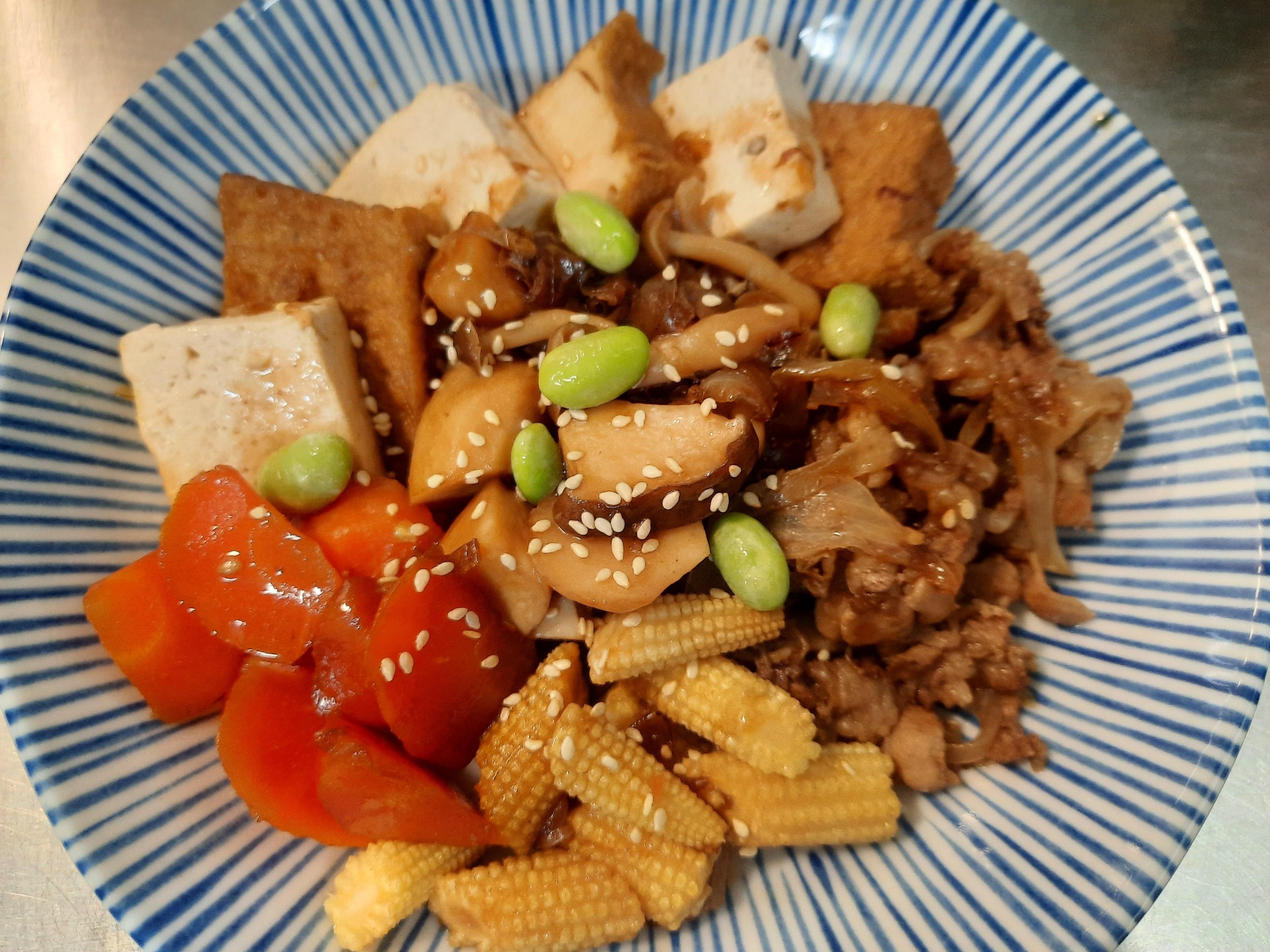 肉豆腐(牛丼升級版)