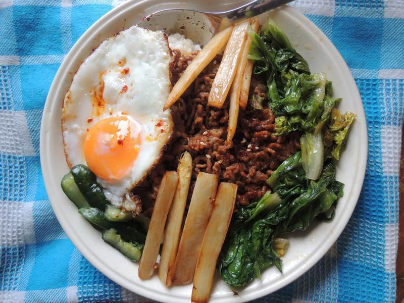 韓式絞肉丼