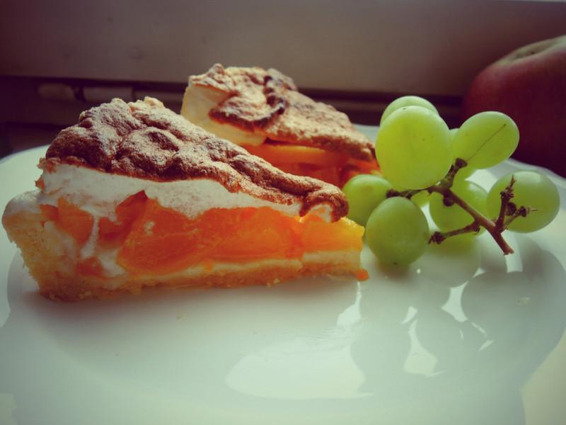 桃子蛋白派