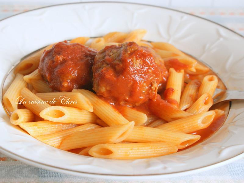 [麵食] 義大利肉丸子