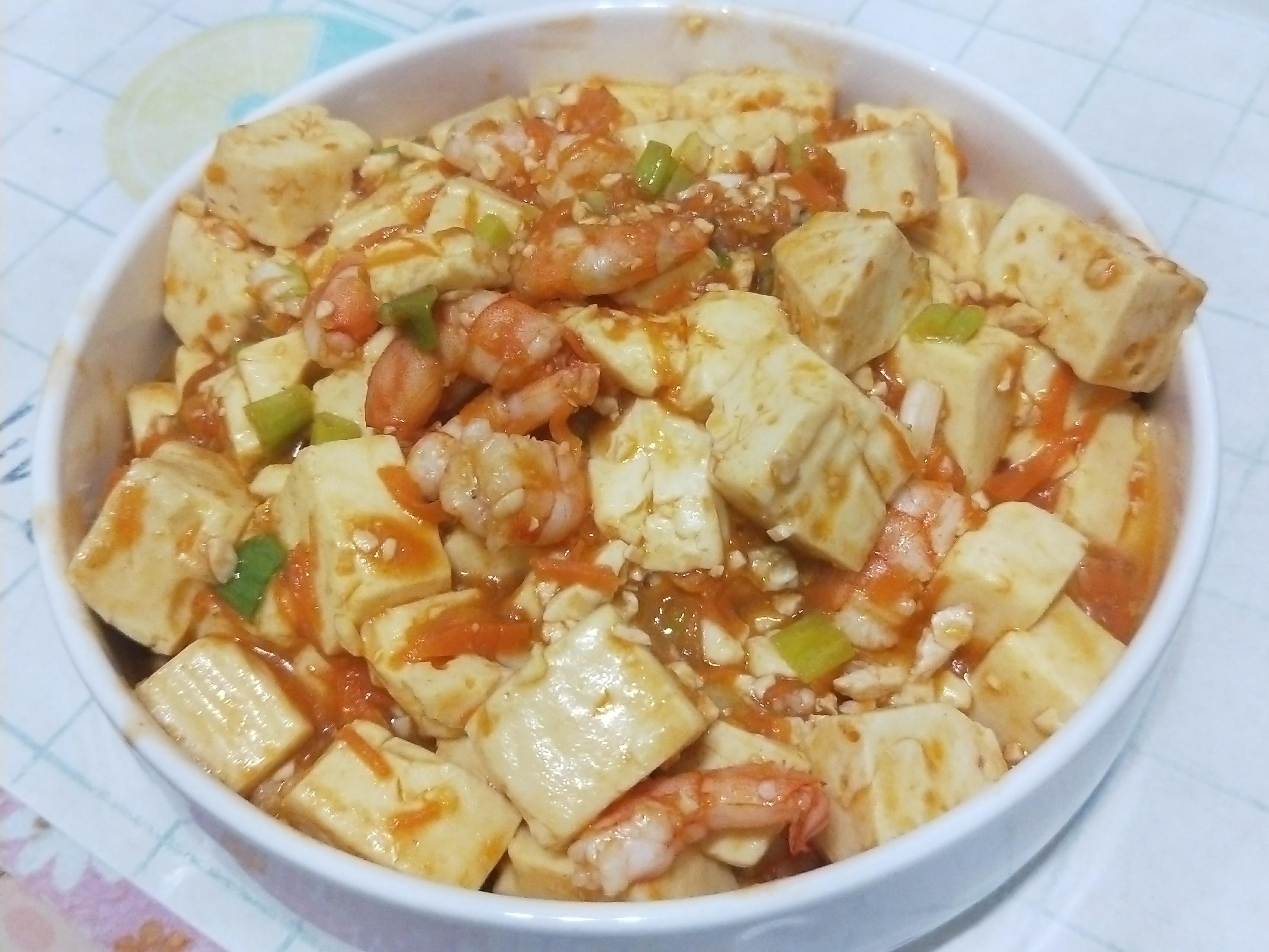 (偽)蟹黃豆腐煲