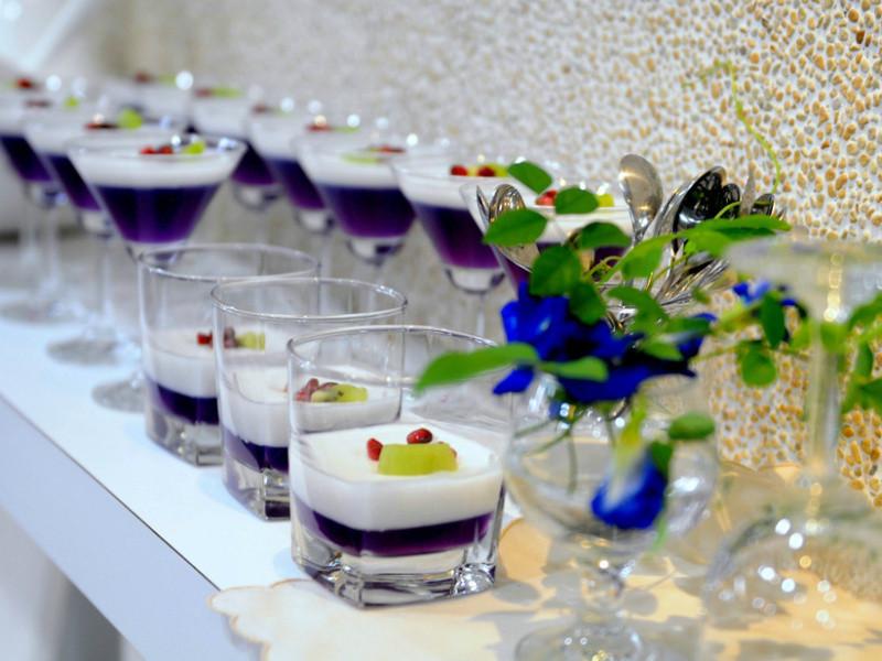 ♦泰泰風食尚廚房♦藍花凍奶酪