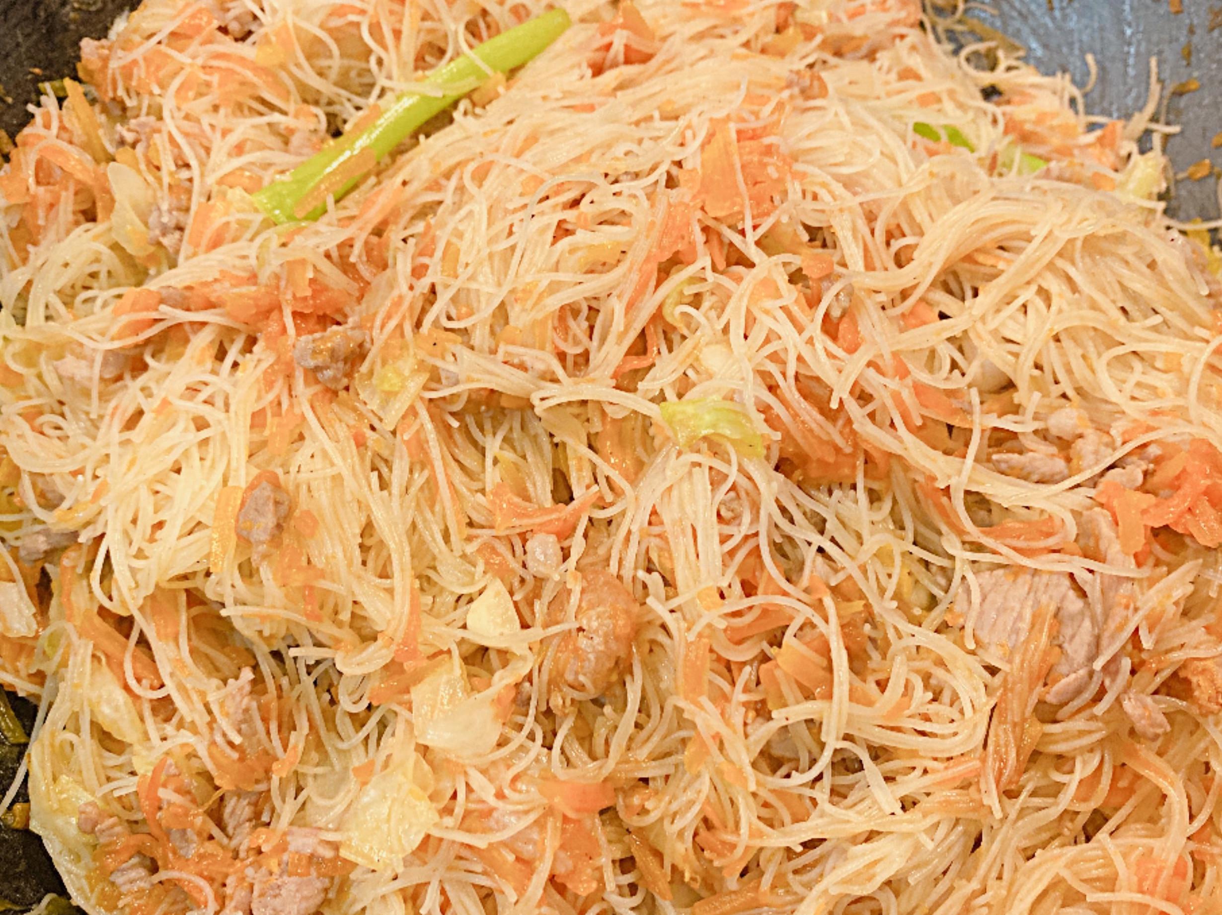 金瓜炒米粉(無香菇版)