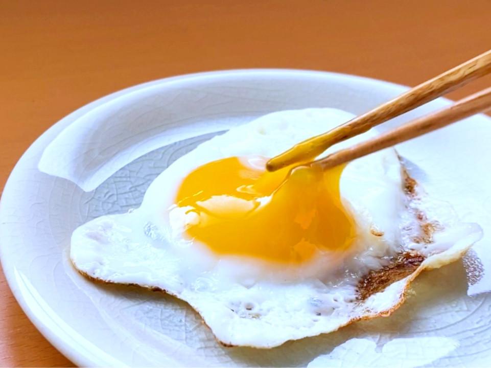 【荷包蛋】脆脆蛋白&半熟蛋黃