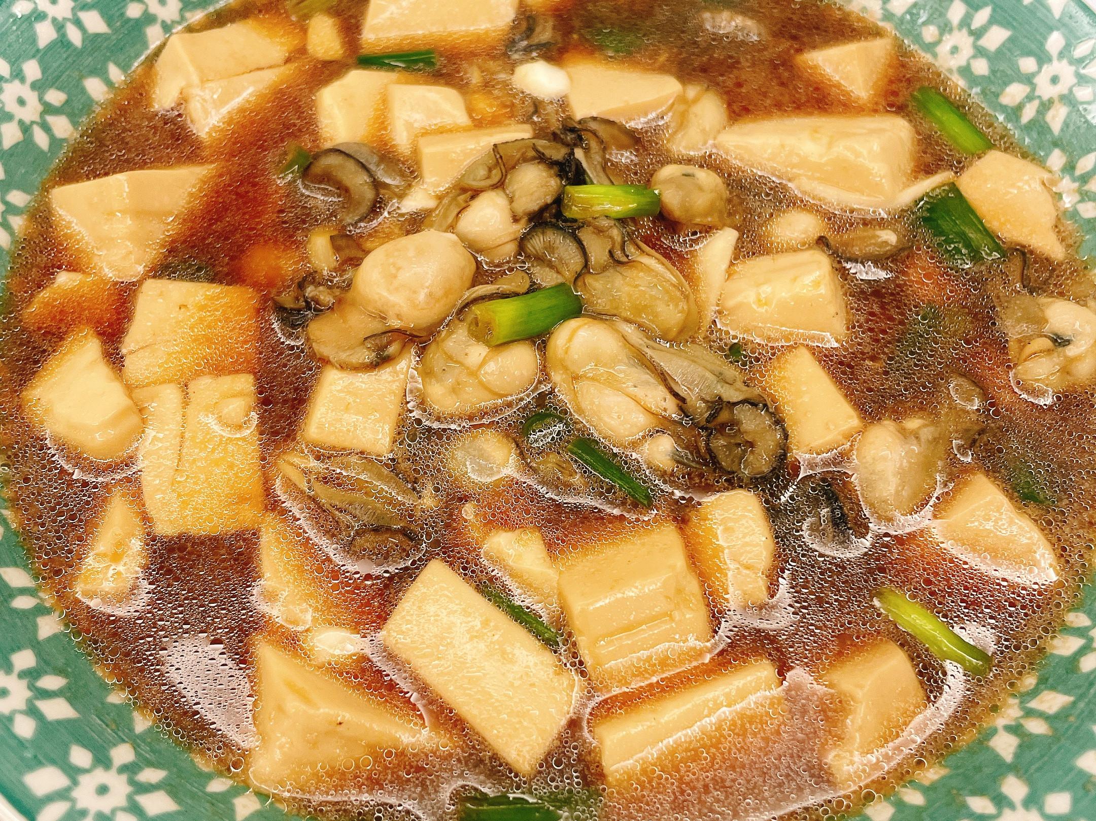 照燒豆腐鮮蚵