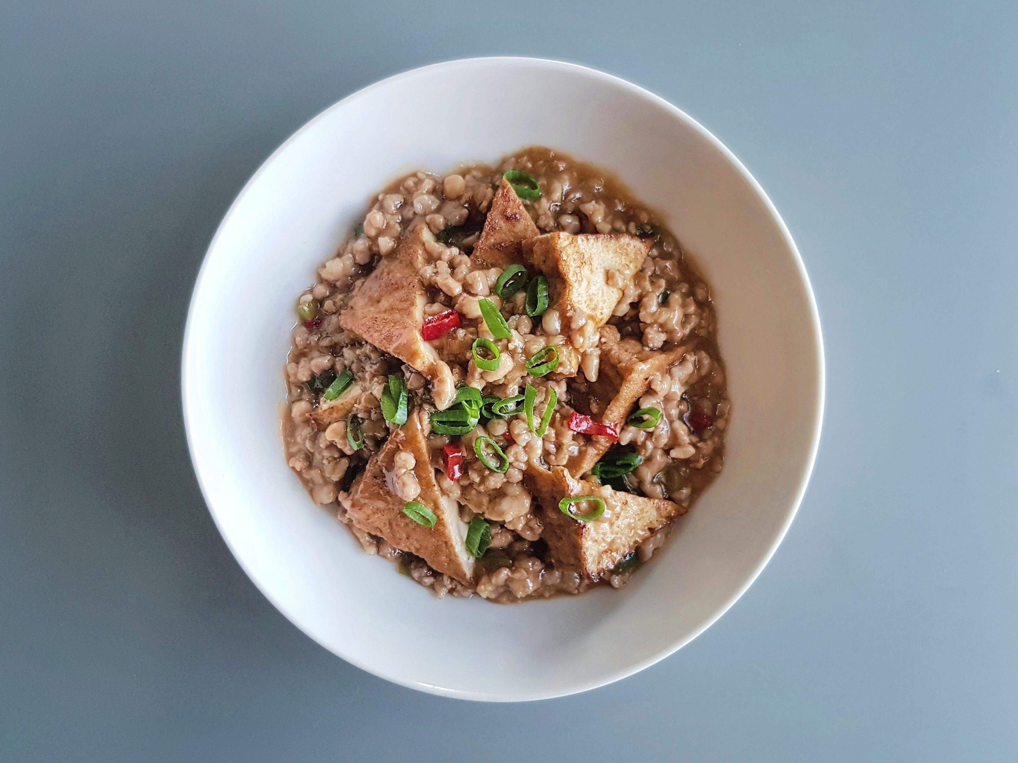 味噌肉醬油豆腐 (中華鹽滷油豆腐)