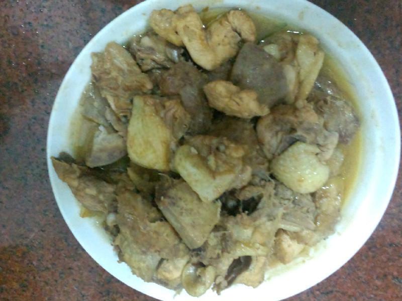 【老吳的廚房】香酥芋頭紅燒雞