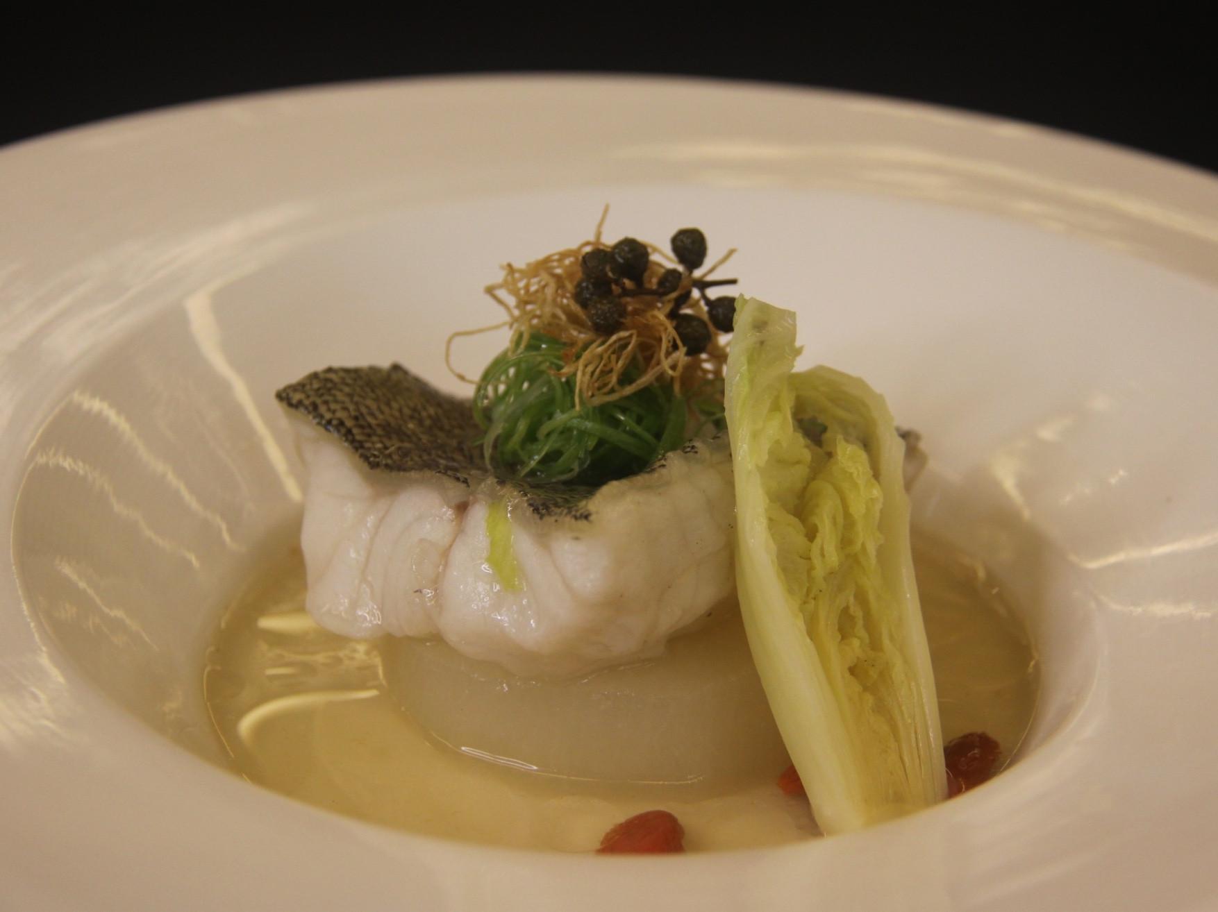 青花椒蒸魚