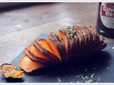 [Yun。在廚房]黃金地瓜薯片