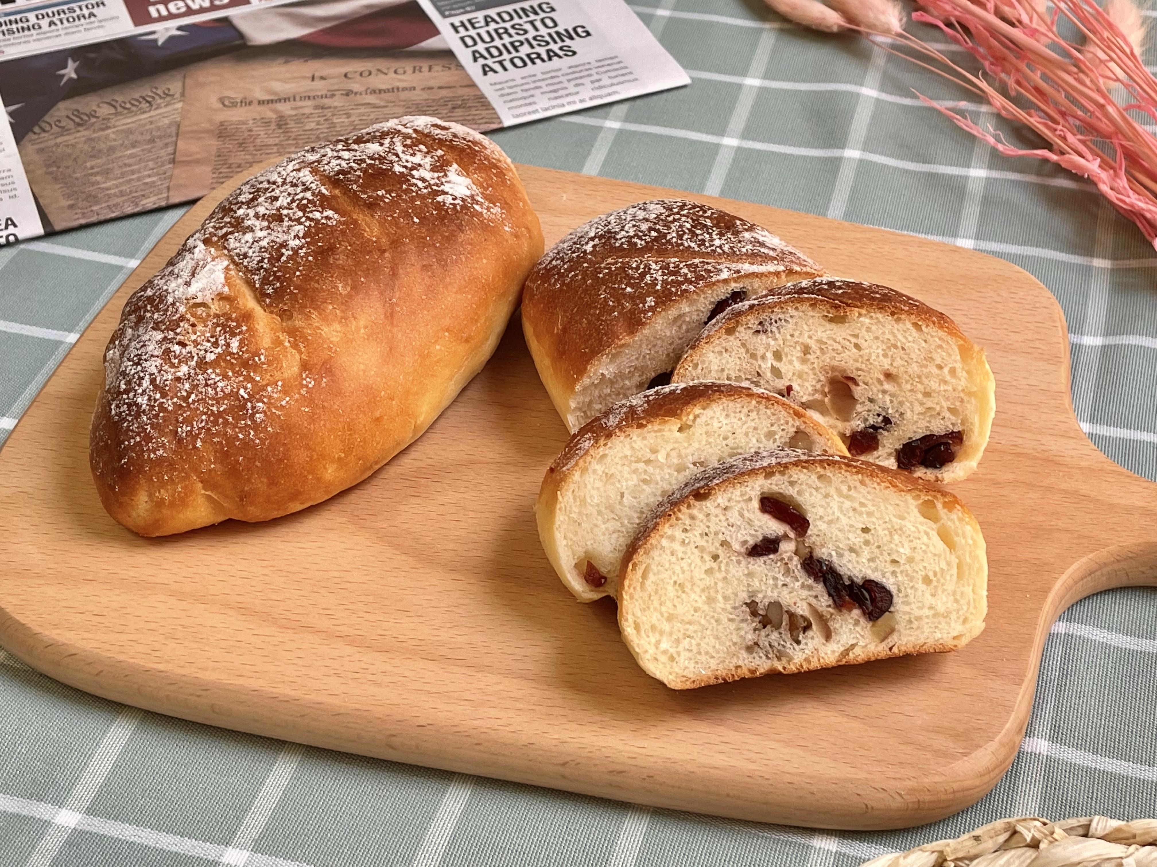蔓越莓核桃麵包