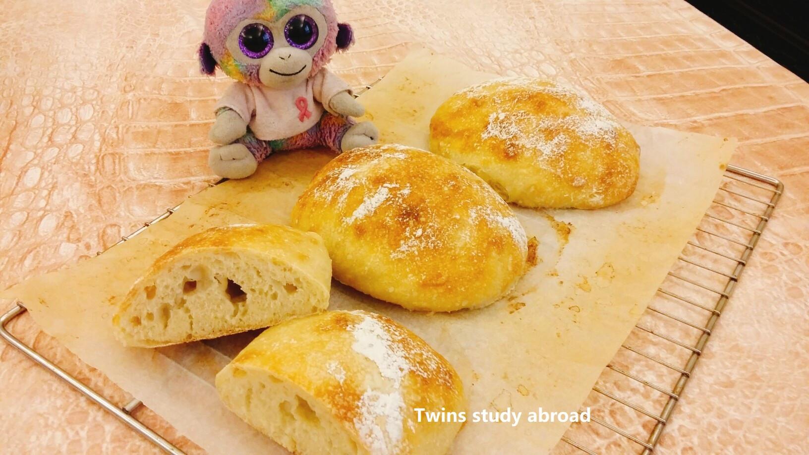 大氣孔巧巴達 【歐式麵包小技巧】