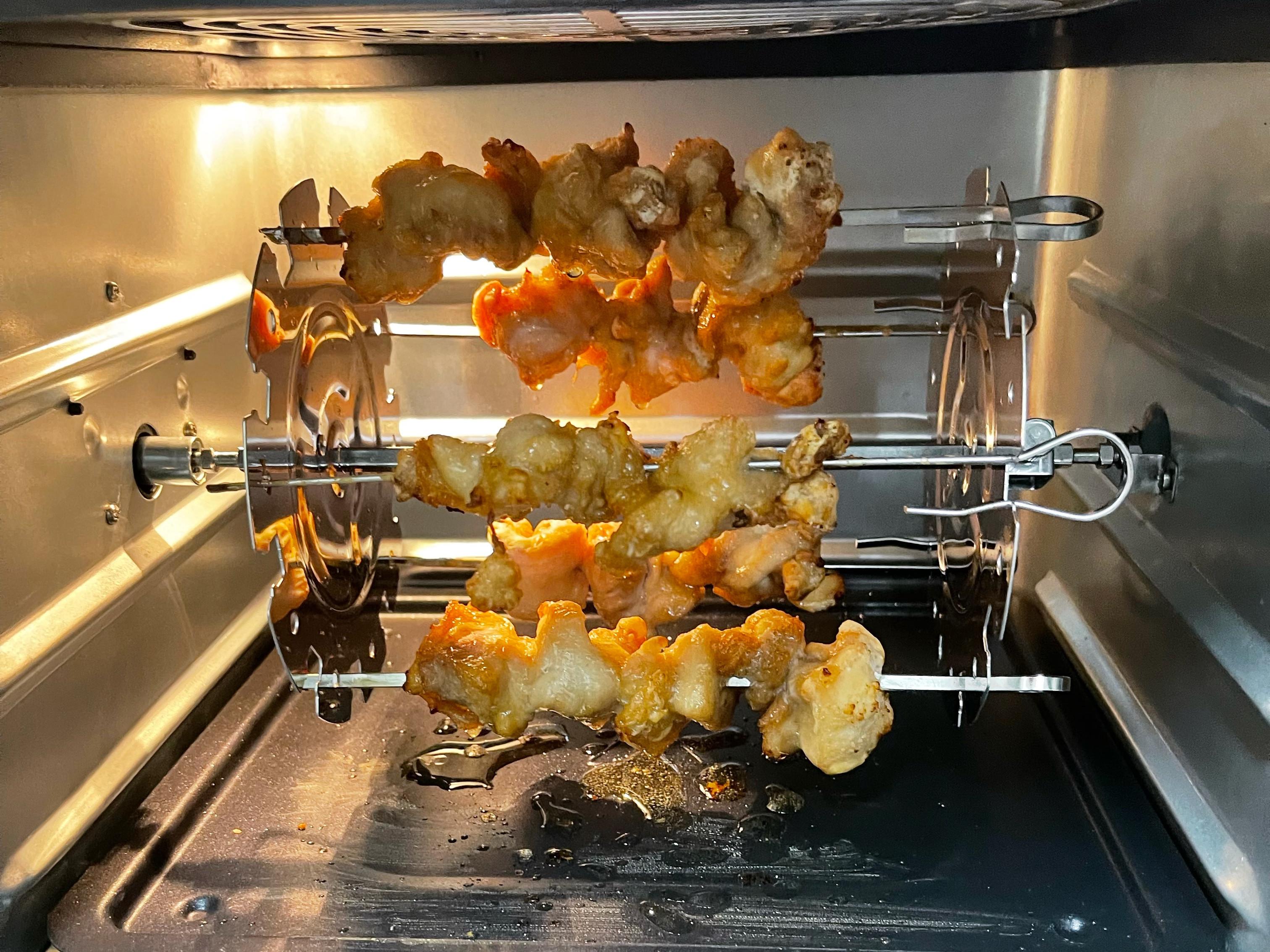 豆乳雞(氣炸烤箱)內有普通烤盤設定