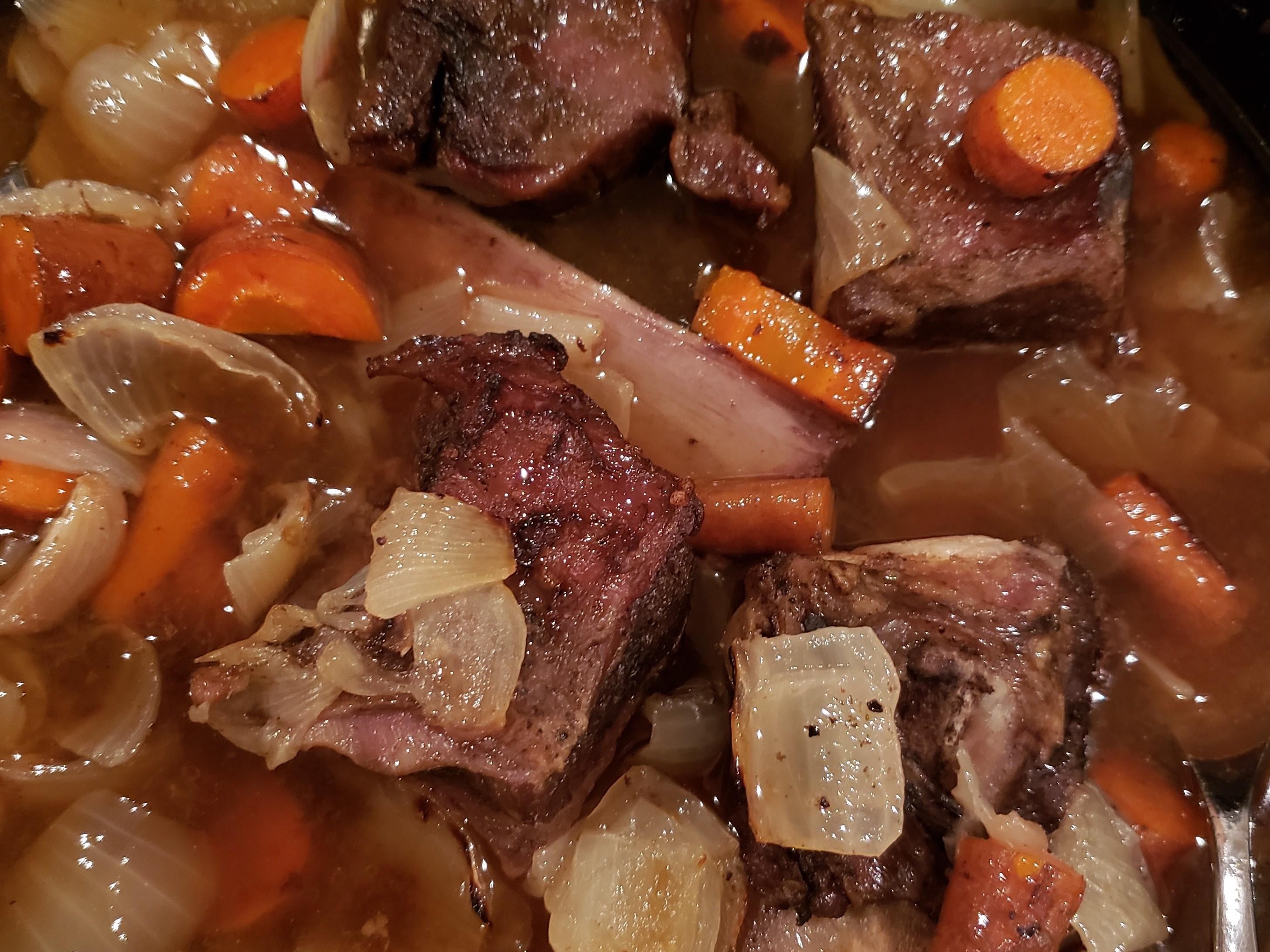 酒燉牛小排 Beef Short Rib