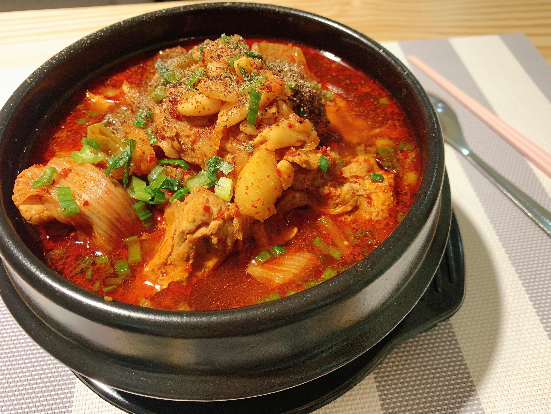 韓式馬鈴薯燉排骨🥔