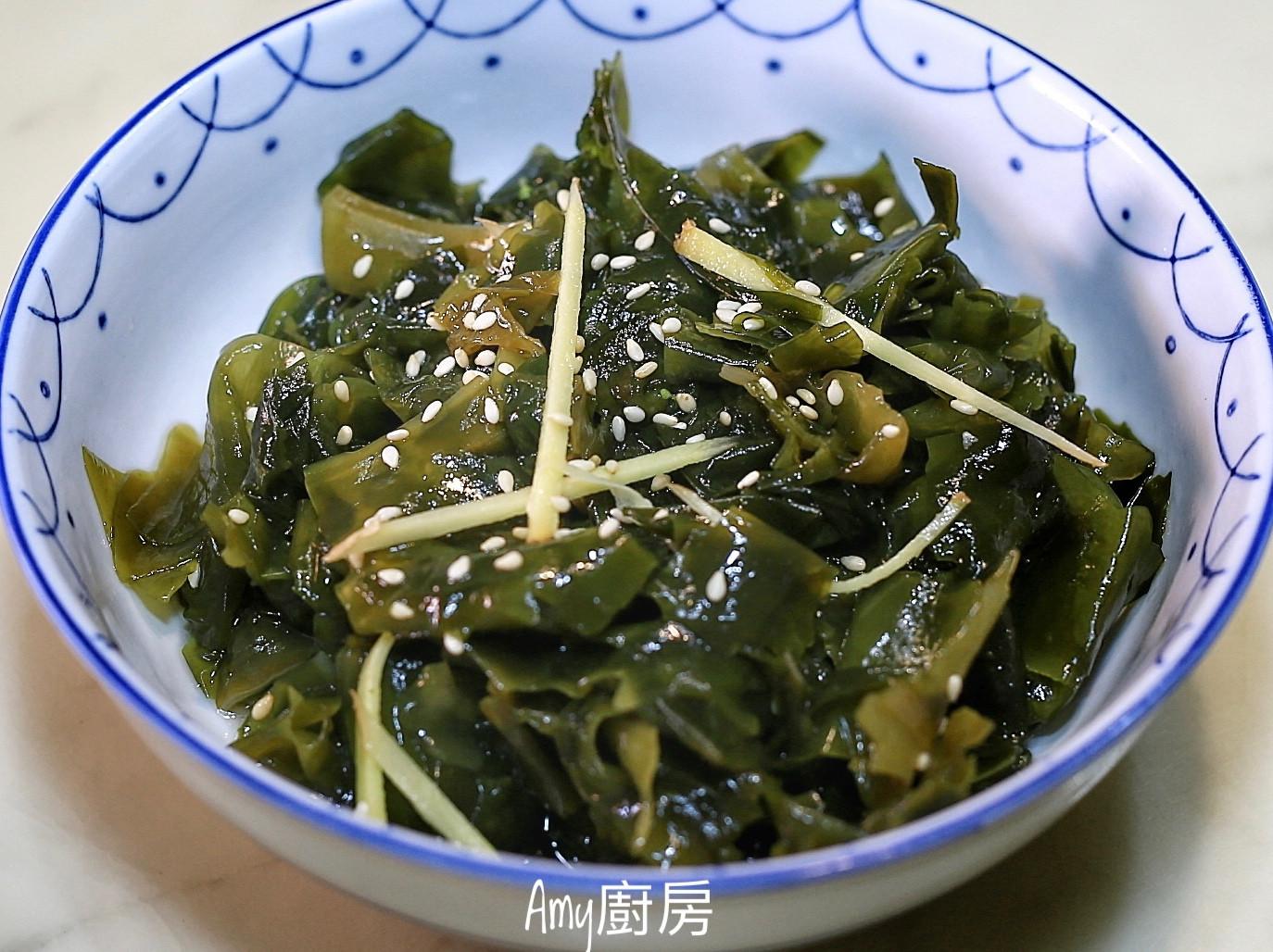 簡易開胃菜~涼拌海帶芽