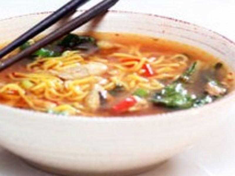 減重食譜6-低卡雞絲湯麵