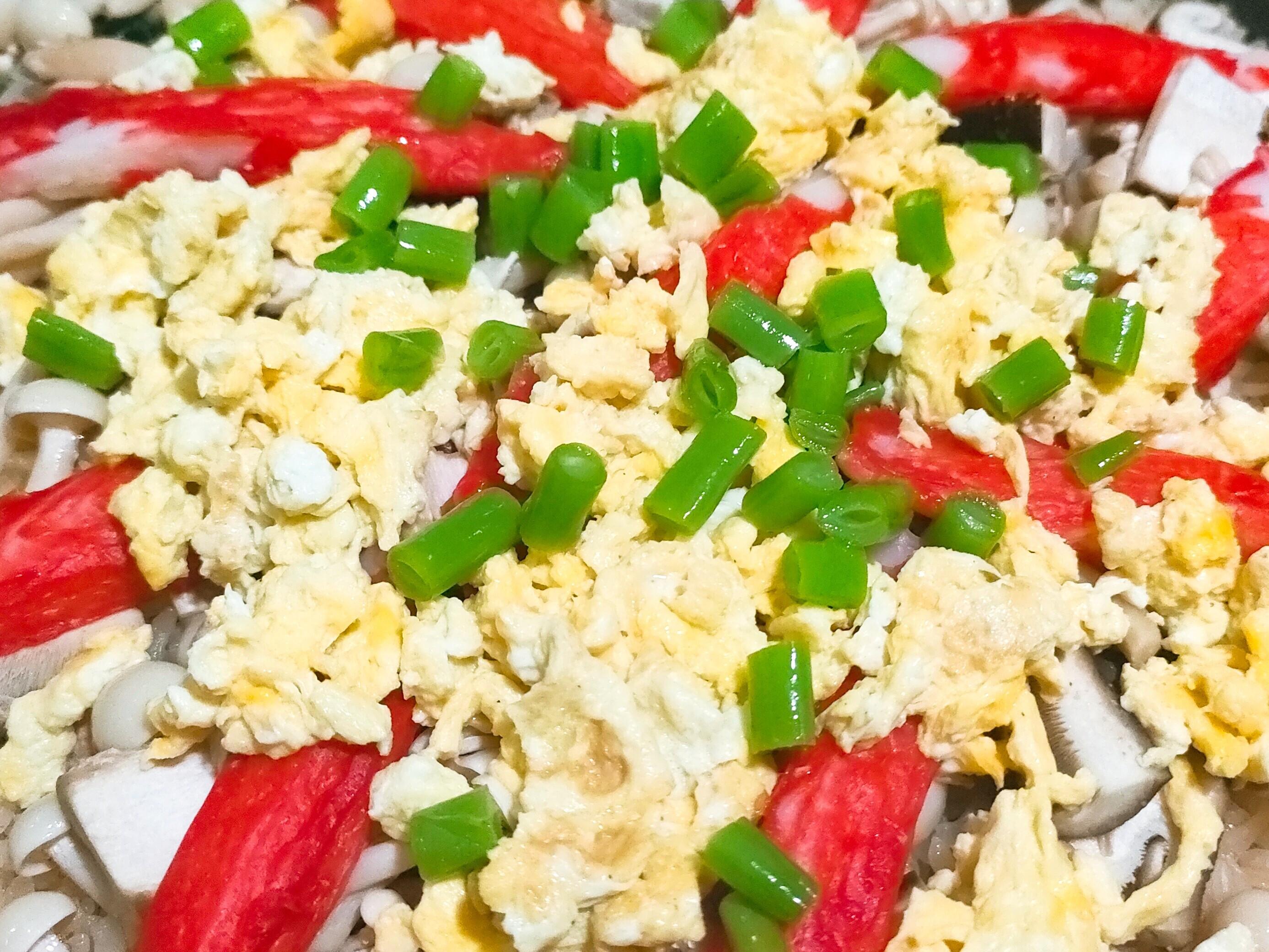 蟹味菇菇炊飯