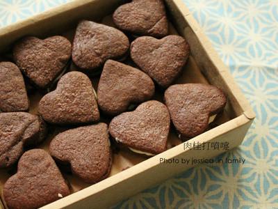 【肉桂打噴嚏】情人節手工巧克力餅乾