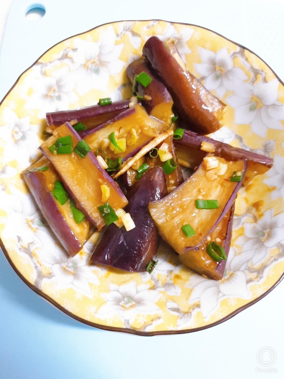豆瓣燒茄(五辛素)