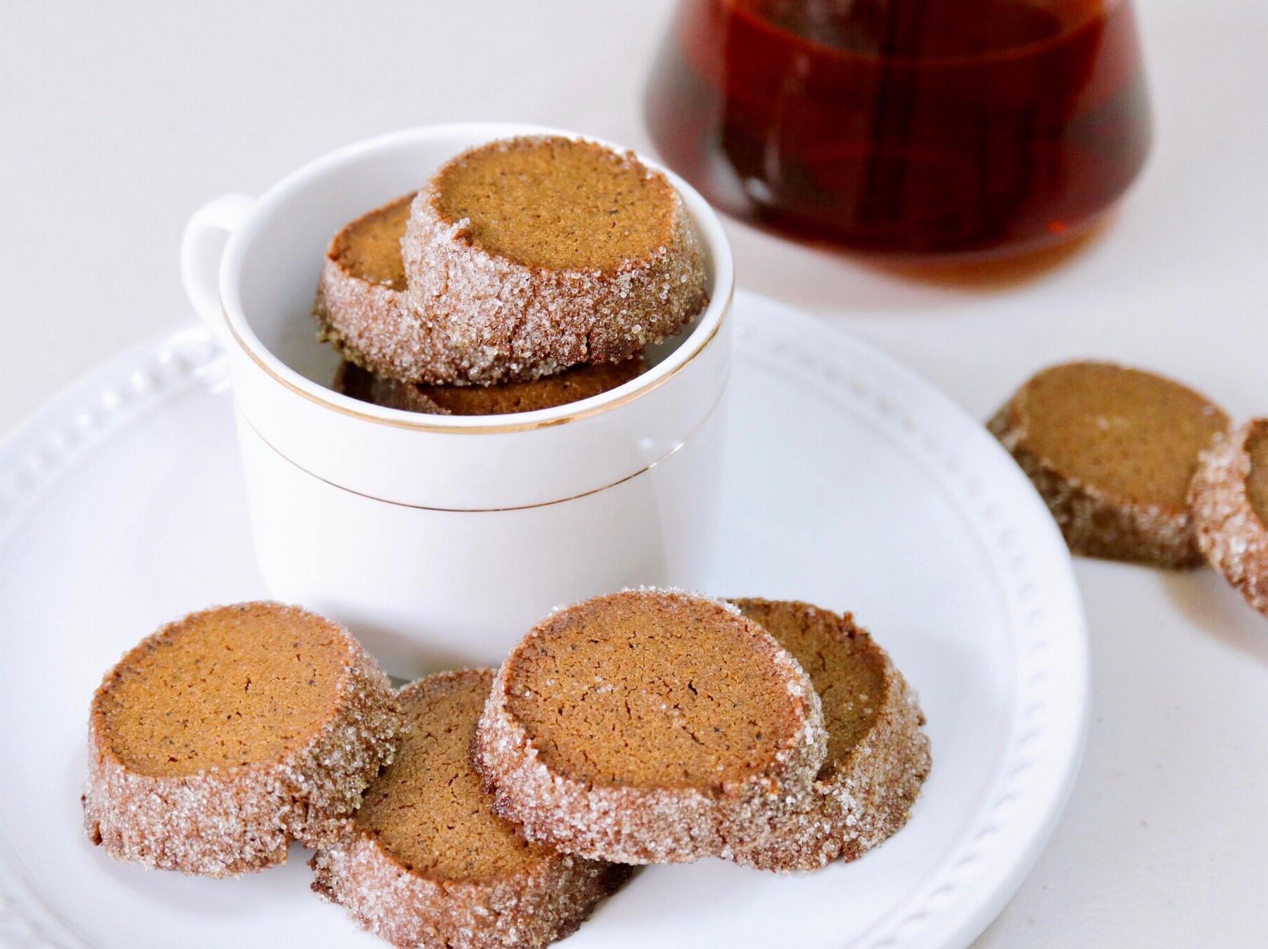 酥脆+牛油香♪特濃伯爵紅茶曲奇餅乾☕️