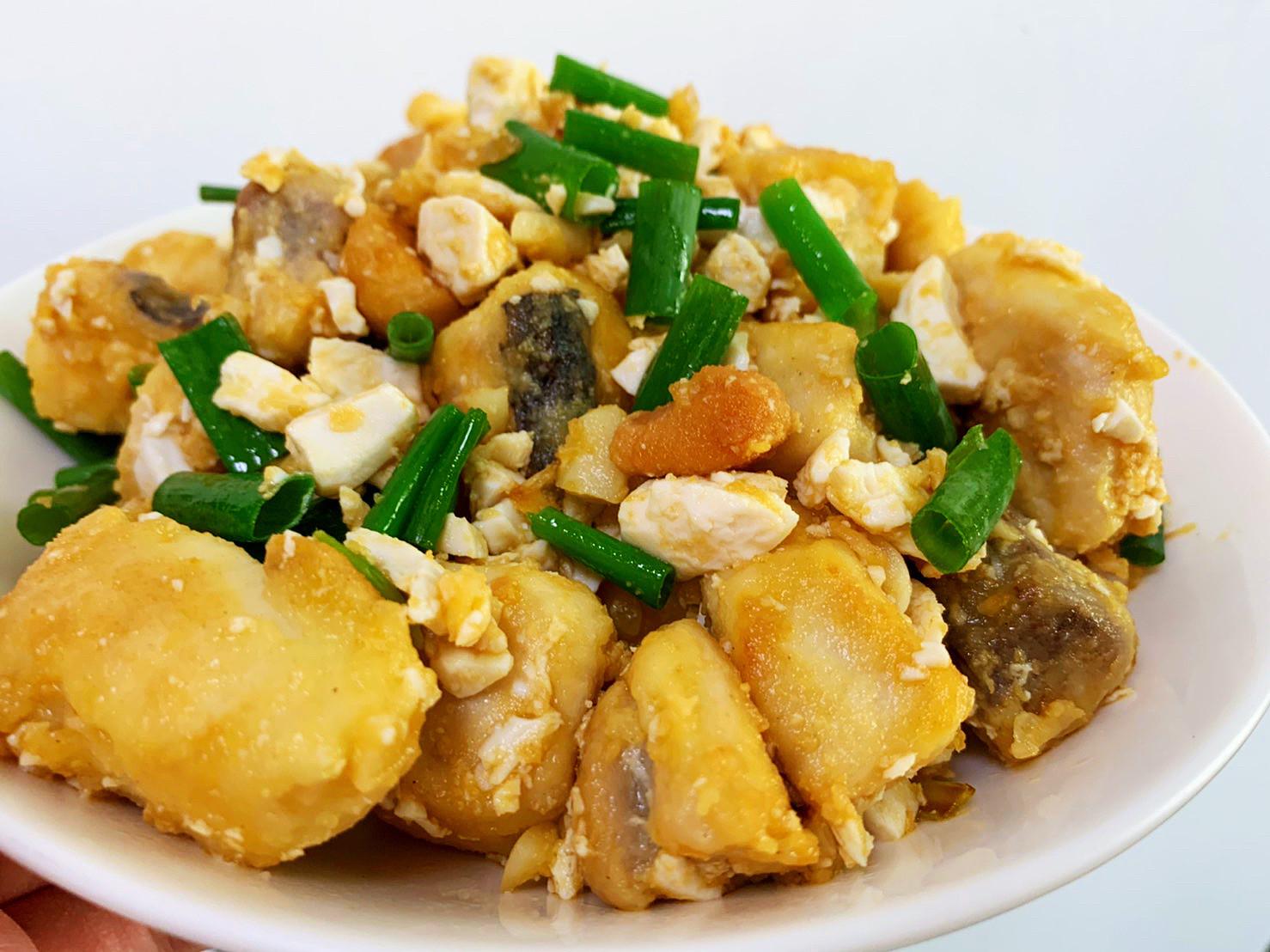 黃金鹹蛋魚塊