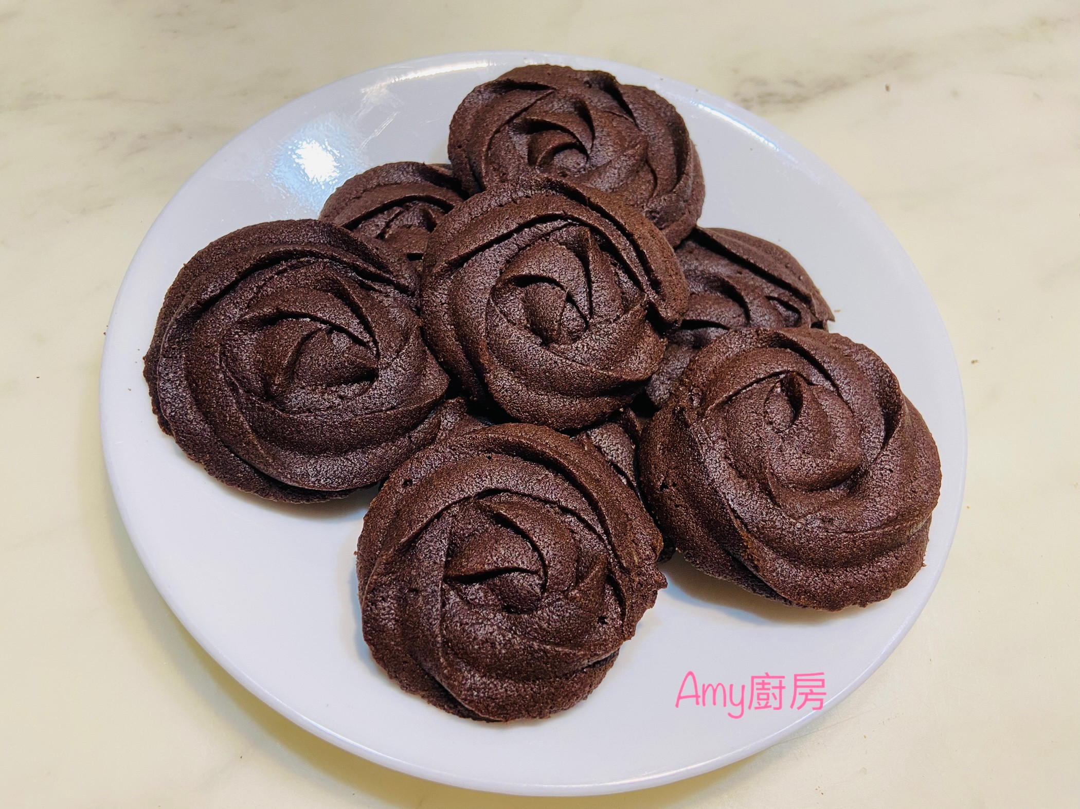 巧克力擠花曲奇餅乾