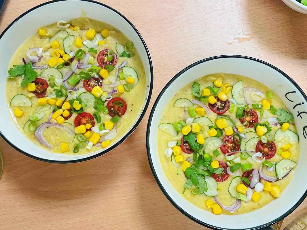 玉米馬鈴薯超濃の湯