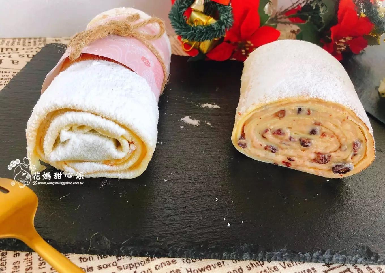 紅豆奶香絹絲蛋糕捲(網紅甜點)