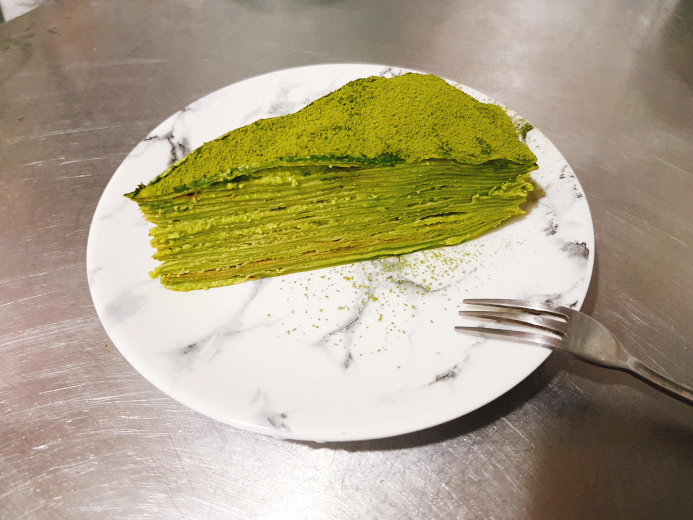 重抹茶千層蛋糕