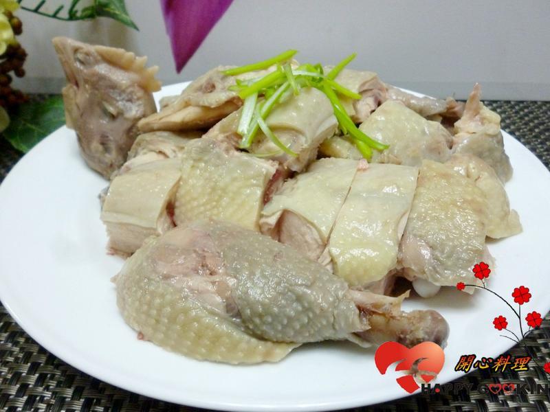 年菜~ 10分鐘完成白斬雞